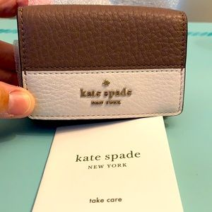 Kate Spade Jackson Micro Trifold Leather Wallet